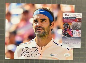 Roger Federer Signed 8x10 Photo Autographed PSA/DNA COA Tennis AUTO