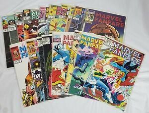 Marvel's Fanfare Marvel Comics Lot of 23