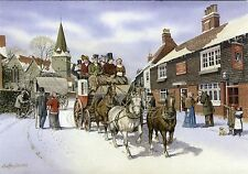 NEWNHAM, KENT AT THE TIME OF DICKENS POSTCARD