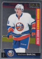 MATTHEW BARZAL NO:188  MARQUEE ROOKIES in O PEE CHEE PLATINUM 2016-17    a