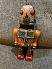 Vintage Japan Tin Tuliphead X 70 Space Toy Robot