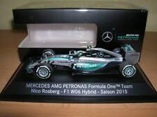Minichamps Mercedes AMG Petronas Fórmula 1 Nico Rosberg temporada 2015 #6 , 1:43