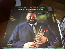 AL HIRT-LIVE AT CARNEGIE HALL-LP-NM-RCA VICTOR BLACK-MONO DYNAGROOVE-TRUMPET