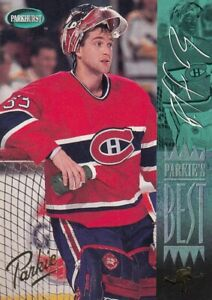 PATRICK ROY NO:312  PARKIE`S BEST ( GOLD ) in PARKHURST 1994-95
