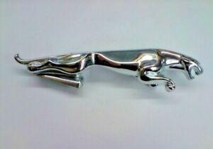 Jaguar Leaping Cat Large Chrome Bonnet Mascot / Emblem, Jag part BD10954