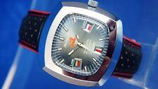 Caballeros nos Vintage Astromatic Sagitario signo Reloj automático suizo 1970s