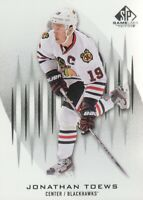 2013-14 SP Game Used Hockey #79 Jonathan Toews Chicago Blackhawks