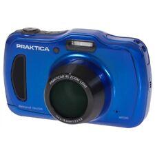 PRAKTICA Luxmedia Wp240 Waterproof 20mp Digital Compact Camera Blue