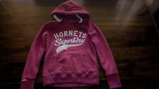 Ladies Girls Superdry Sports Pitch Entry Hoodie Cherry Marl Size Xtra Small XS