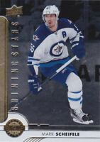 17/18 UD..MARK SCHEIFELE..SHINING STARS..# SSC-6..JETS..FREE COMBINED SHIP
