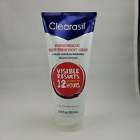 Clearasil Rapid Rescue Deep Acne Treatment Face Wash 6.78 oz, 1 Pack