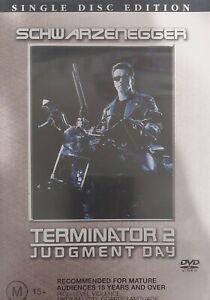 Terminator 02 Judgement Day DVD Free Tracked Postage