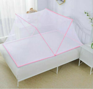 Bed Mosquito Net Portable Foldable Home Mesh Sleep Travel Tent for Adult & Kids