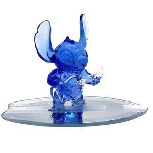 Disneyland Paris Stitch on Surfboard figure, Arribas Glass Collection   N: 2631