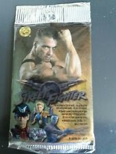 10 Street Fighter The Movie Trading Card Booster Packs (capcom 1994)