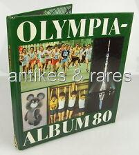 Olympia Album 80, Olympische Sommerspiele in Moskau, Verlag Junge Welt Berlin