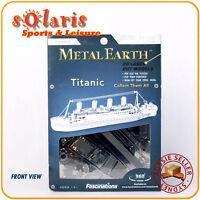 Fascinations Metal Earth RMS Titanic 3D Miniature Ocean Liner Steel Model