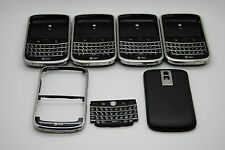 LOT OF 5 OEM Blackberry Bold 9000 Housing Black AT&T logo Ref