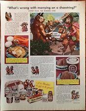 Borden's Elsie milk cow ad 1948 original vintage 1950s print advert art dairy