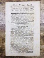 Ordre de Malte 1797 République CISPADANE Bonaparte Armée d'Italie Bologne Irish