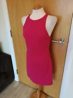 Ladies ZARA Dress Size M 10 12 Pink Mini Party Evening Wedding