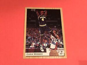 Chris Webber Rookie 1993 Classic #1