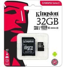 32GB Kingston Tarjeta de Memoria Micro-Sd para Sony Ericsson Xperia Arc S