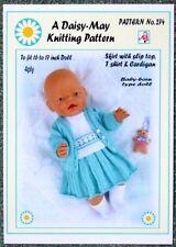 4 Ply Doll Clothing Girls Crocheting & Knitting Patterns