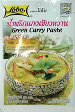 LOBO Green Curry Paste 1 X 50g Pack Authentic Taste of Thai - Worldwide Shipping