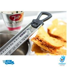 THERMOMETER Steel Jam Sugar Cooking Candy Deep Fry Kitchen Temp Check Stick TALA