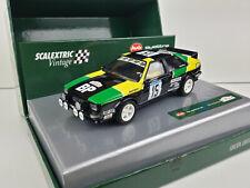Slot car Scalextric Vintage A10148S300 Audi Quattro  #15 Tour de Corse 1981