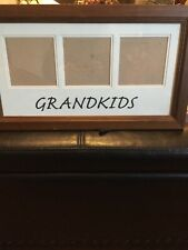 Grandkids 16.5x9.5 Glass Picture Frame From Michael's New/scratch