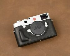 Leica M10 Fit Leather Half Case (Black) - BRAND NEW