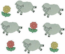 Jesse James 485258 Dress It up Embellishments-counting Sheep