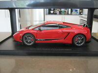1:18 AUTOART 74655 LAMBORGHINI GALLARDO LP570-4 SUPERLEGGERA RED *NEW*