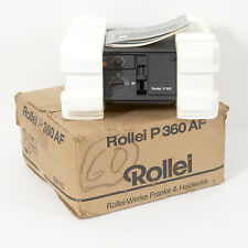 ROLLEI P360 35mm AUTOFOCUS SLIDE PROJECTOR With HEIDOSMAT 85mm f2,8 LENS +Manual