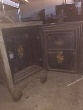 "Antique Vintage Halls floor safe 36"" by 24"" Double Locking."