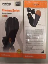 Semelles Chauffantes ThermaSoles Springyard Pointure 39 - 42  /43-46