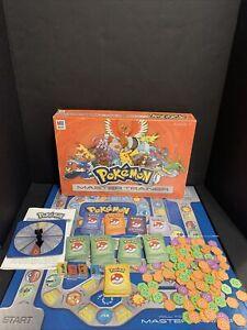 Pokémon Master Trainer Board Game Milton Bradley Hasbro 2005 100% Complete