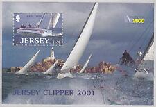 Jersey 2001 fois Clipper 2000 R T W yacht race MS um MBS 1006 Cat £ 4.00