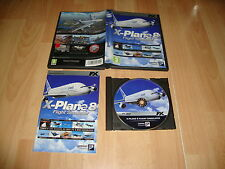 X-PLANE 8 FLIGHT SIMULATOR DE LAMINAR RESEARCH PARA PC USADO COMPLETO