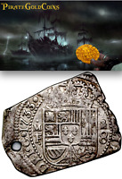 """MEXICO 1733 KLIPPE PENDANT JEWELRY """"DATED!"""" PIRATE GOLD COINS SHIPWRECK TREASURE"""