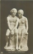 The innocent by Sandor Jaray sculpture early art postcard