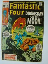 1970 Fantastic Four #98 Jack Kirby Art Neil Armstrong Moon Landing VG