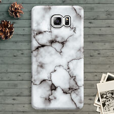 Marble White Pattern Gray Granite for Samsung Galaxy Note 3,4,5 Hard Case Cool