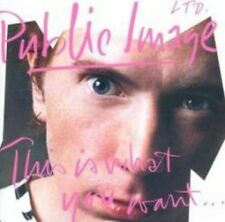 Public Image Limited - This Is What You Want . . . This Is What You Get (NEW CD)
