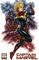 CAPTAIN MARVEL 1 BROOKS VARIANT MS. MARVEL TRADE AVENGERS PRESALE 1/30/19