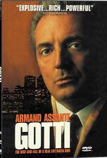 NEW Gotti (DVD, 2000) Armand Assante JOHN GOTTY MOVIE NY MOB BOSS NEW YORK DON