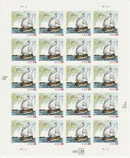 SAMUEL DE CHAMPLAIN STAMP SHEET -- USA #4073 39 CENT