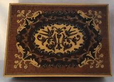 Vintage Wood Trinket Box